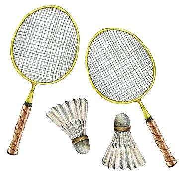 sport. badminton by lisenok