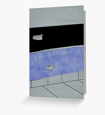 Escape Velocity Greeting Card