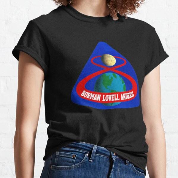 Apollo 8 NASA Moon Mission Patch  Classic T-Shirt