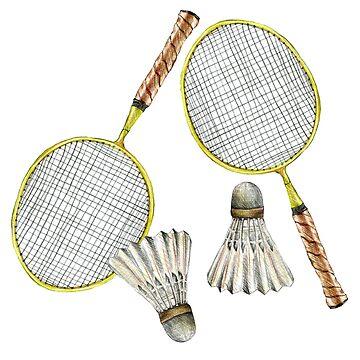 badminton_2 by lisenok