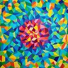 «pintura geométrica colorida» de artetbe