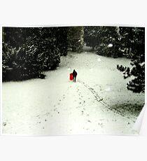 sledding Poster