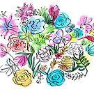 Flower Bouquet by SallyJTaylor