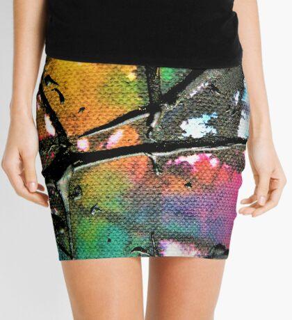 Hippie Goth Mini Skirt
