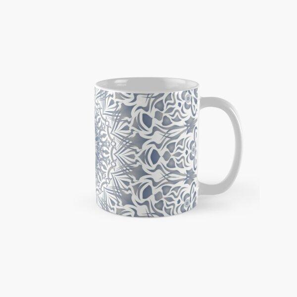 Tribal Mandala Blue Classic Mug