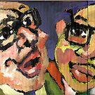 Les Hommes D'Affaires by Sandy Taylor