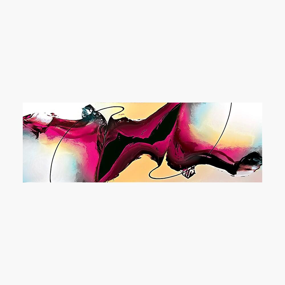 Abstract Art Britto - QB286 Photographic Print