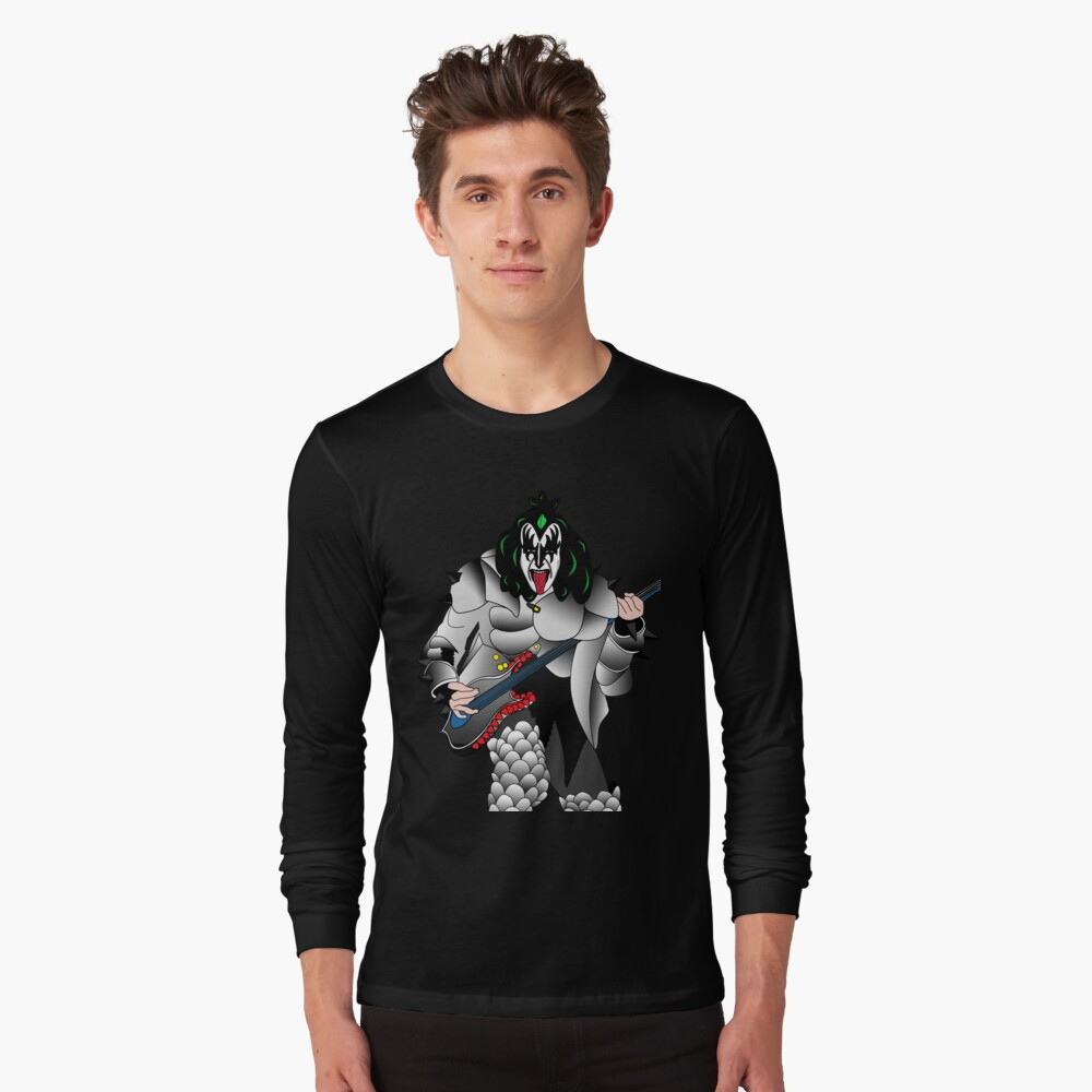 kiss Long Sleeve T-Shirt Front