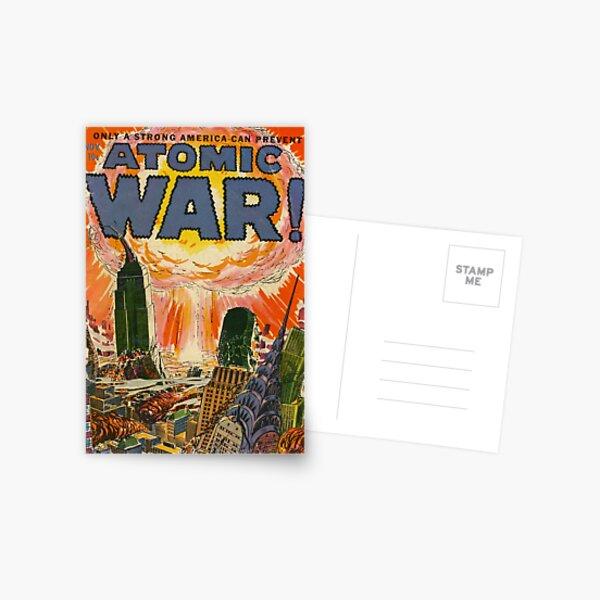 Atomic War Postcard