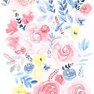 Soft Floral by SallyJTaylor