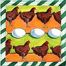 Chicken . . . Egg? by Sandy Taylor