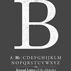 Letter B Monogram with Alphabet by Kelsorian