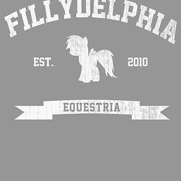 MLP FiM: Fillydelphia by Piwoly