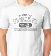 Starkid: Pigfarts wizarding school (grey) T-Shirt