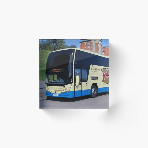 East Yorkshire Coaches Coach Acrylic Block