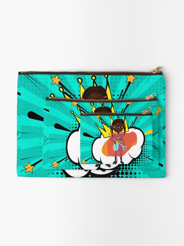 Alternate view of YOUNG ROYALS - Team Queen - Rae Zipper Pouch