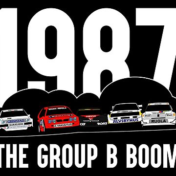 The group B boom black version by purpletwinturbo