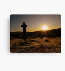Lienzo Dartmoor: First Light at Cadover Cross
