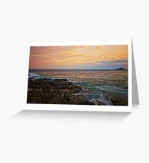 Rocks at Capo Mulini Greeting Card