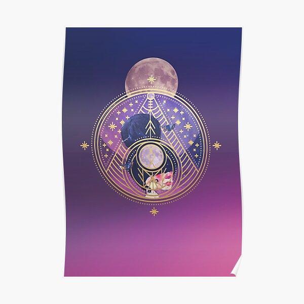Zodiac Libra Goddess Poster