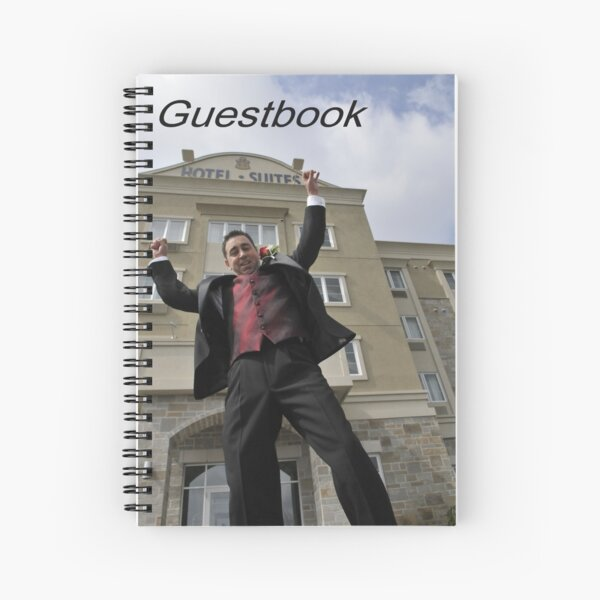 Please sign my Guestbook Spiral Notebook