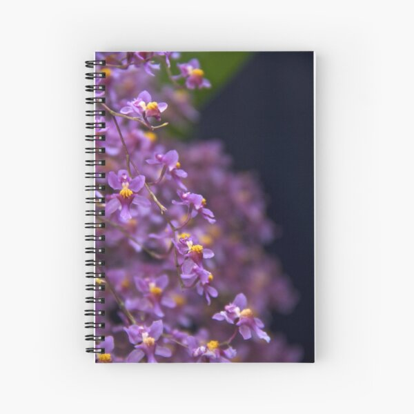 Orchid Branch Spiral Notebook
