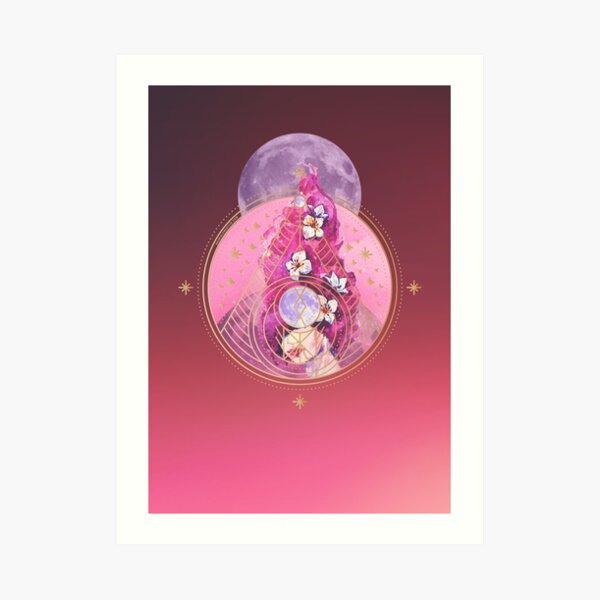 Limited Edition Beautiful Original Art Virgo Goddess A3 Poster print.