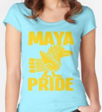 MAYA PRIDE Women's Fitted Scoop T-Shirt