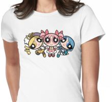 Puella Magi Girls Womens Fitted T-Shirt