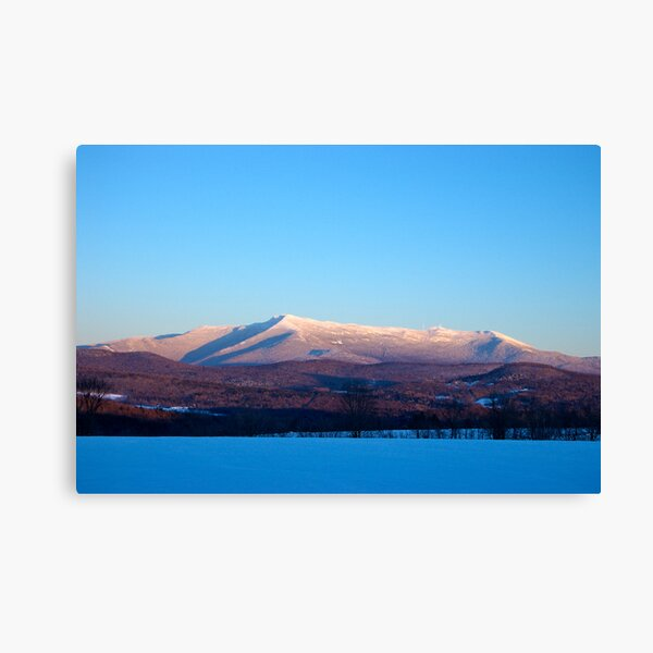Crystal Clear Sunset, Mount Mansfield Canvas Print
