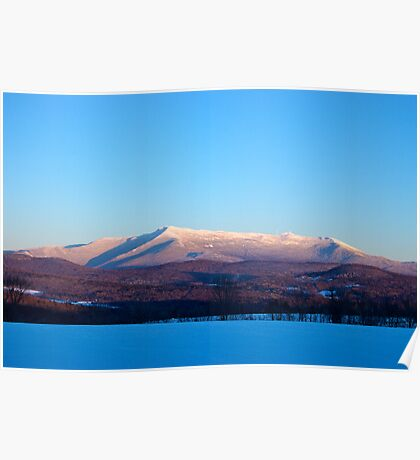 Crystal Clear Sunset, Mount Mansfield Poster
