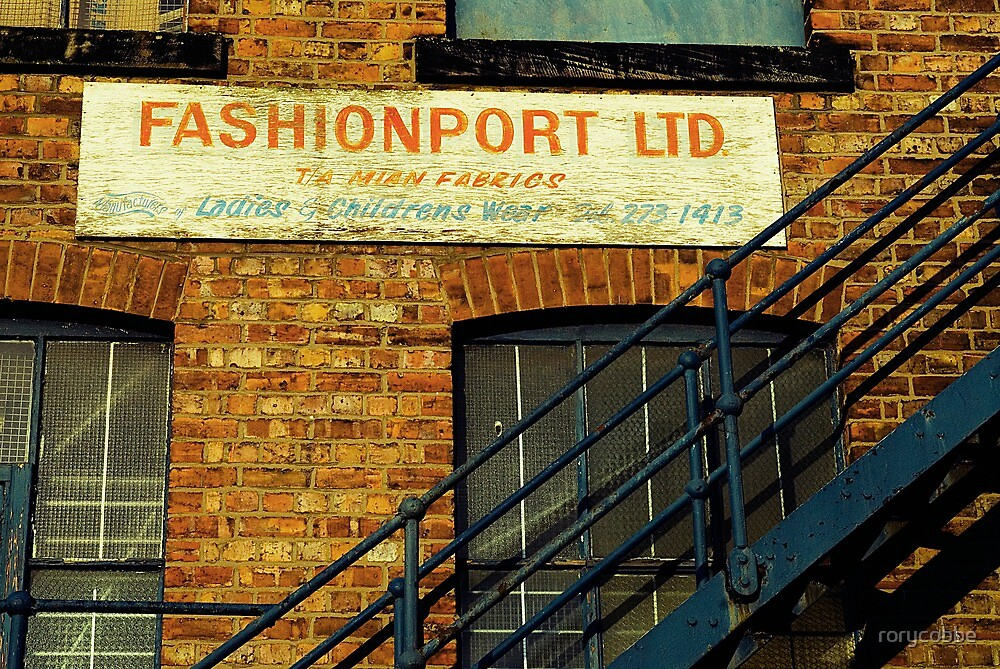 Fashion Is On The Way Up by rorycobbe