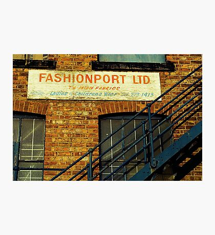 Fashion Is On The Way Up Photographic Print