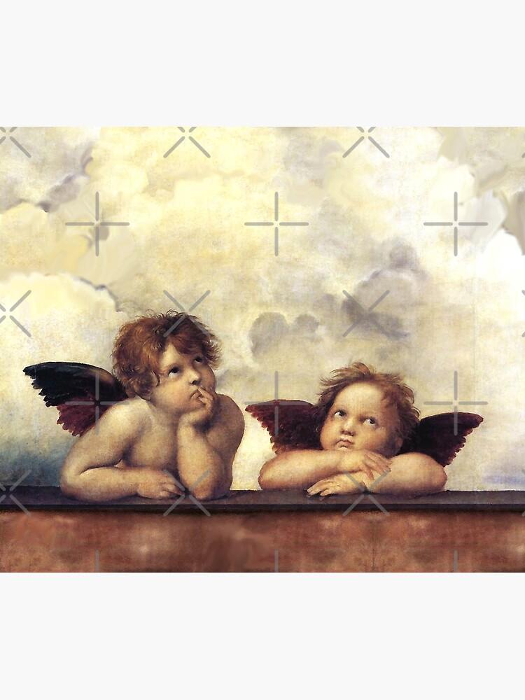 RENAISSANCE ANGELS Winged Cherubs by BulganLumini