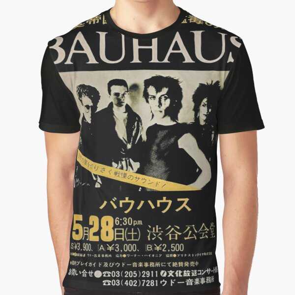 Bauhaus Jp Graphic T-Shirt