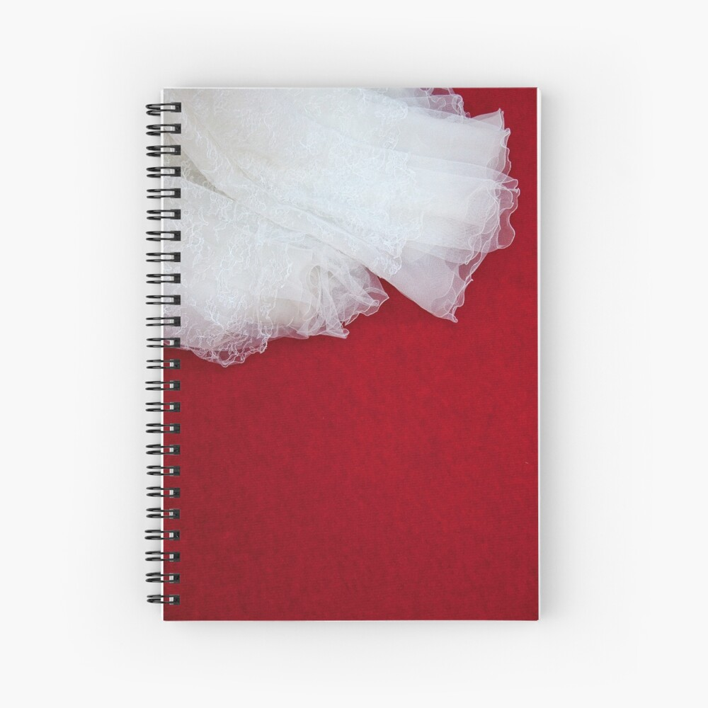 Wedding Dress Detail - Tres Spiral Notebook