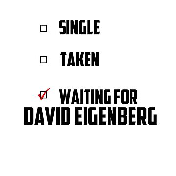 Waiting For David Eigenberg by NessaElanesse