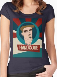 HARDCORE Women's Fitted Scoop T-Shirt