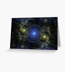 Balls and Wires Greeting Card