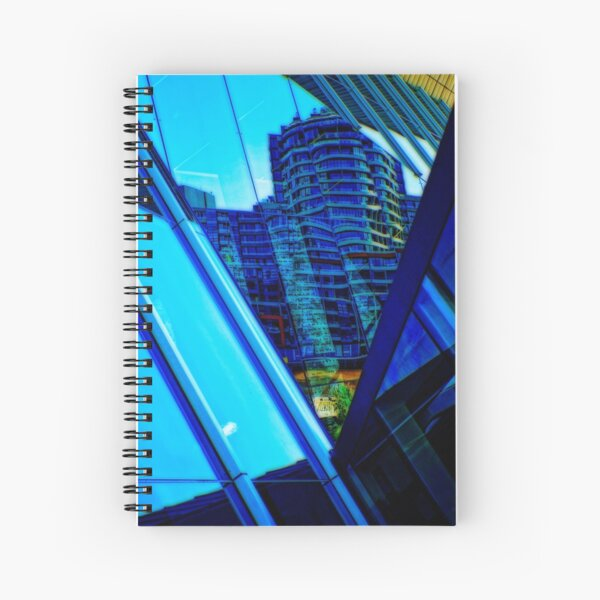 SOUTH WHARF REFLECTIONS Spiral Notebook