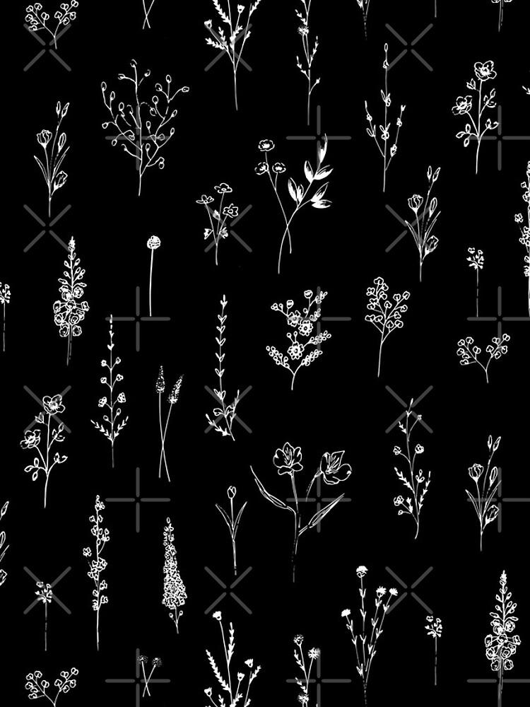Black wildflowers by anisg