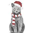 Xmas cat by soltib