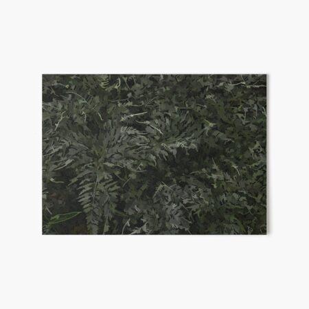 "Japanese ""painted"" fern Art Board Print"