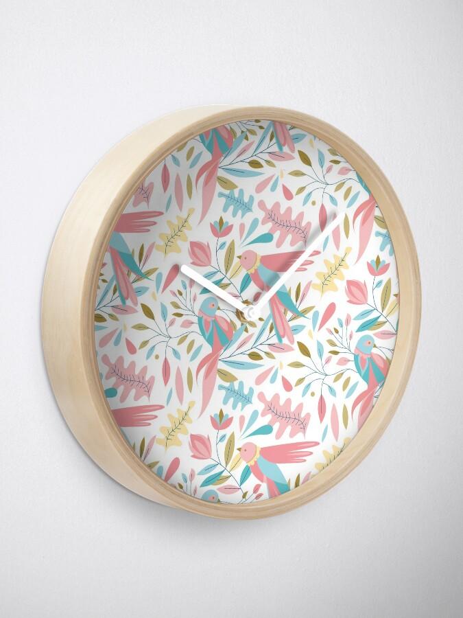 Horloge ''Motif birdy': autre vue