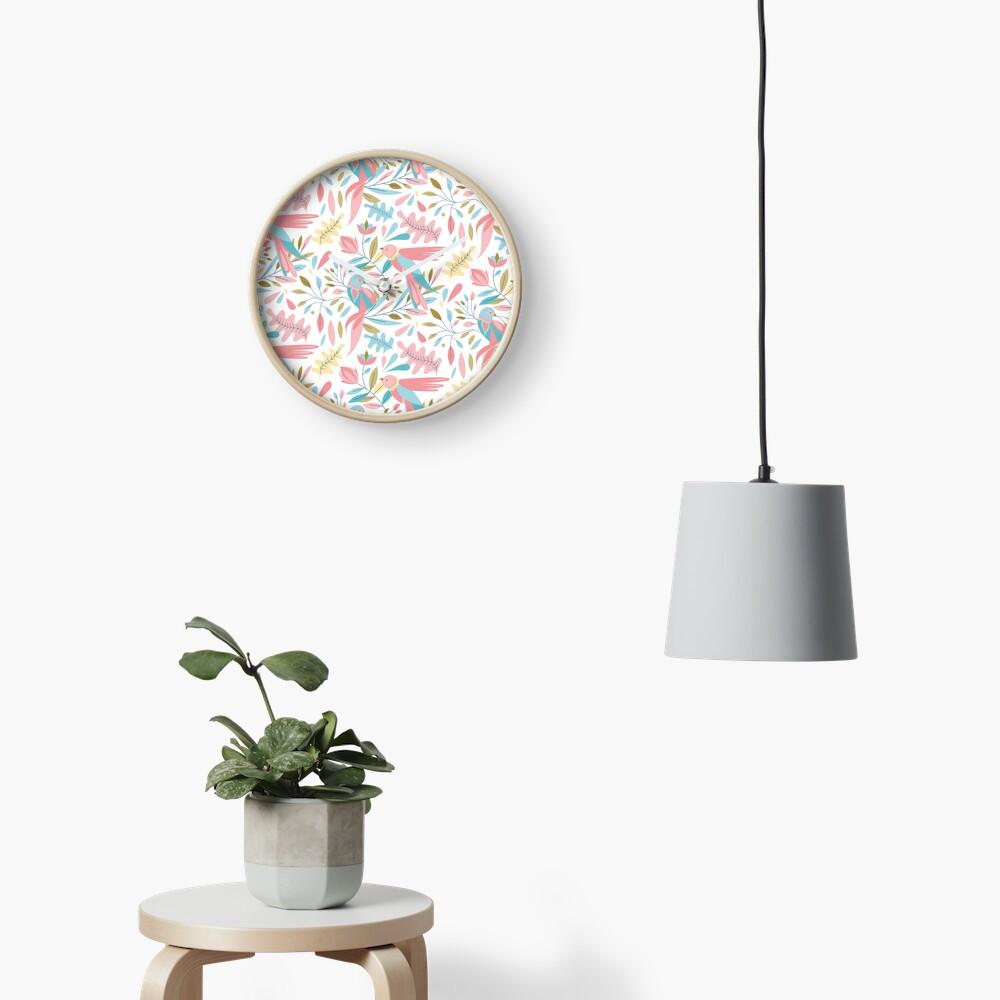 Horloge «Motif birdy»