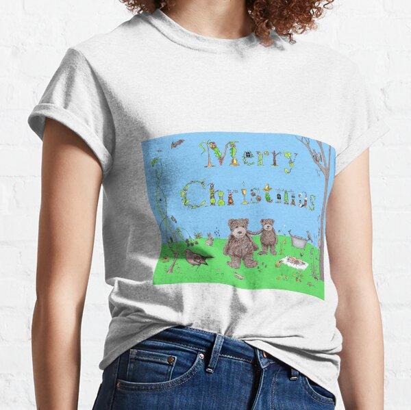 Teddy Bear Christmas card Classic T-Shirt