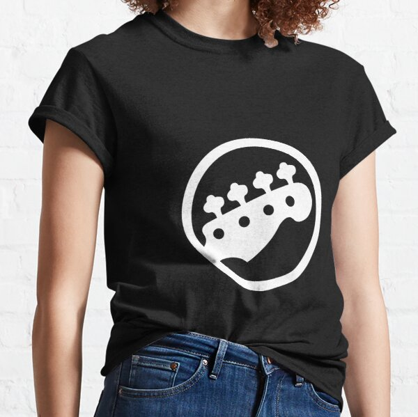 Rock Band Bass Guitar Classic T-Shirt