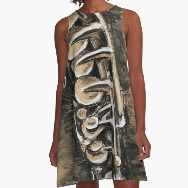 Saxophone A-Line Dress