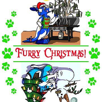 Furry Christmas w Pocari & Stormi! by Adezu