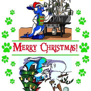 Merry Christmas w Pocari & Stormi! by Adezu